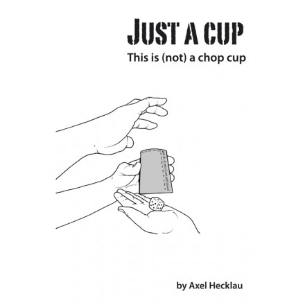 Just a cup - (Performance rights, script, DVD, tools)