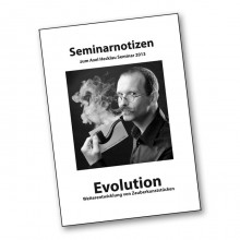 Lecture note Evolution German