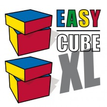 XL Easy Cube - 3 Cubes, 2 Gimmicks, Videoinstructions, performance rights